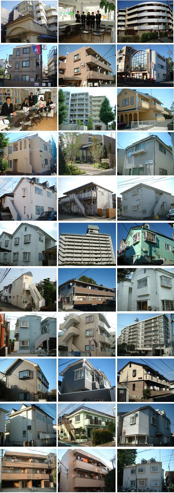 狛江、喜多見、和泉多摩川の不動産 アスカ商事 物件数豊富